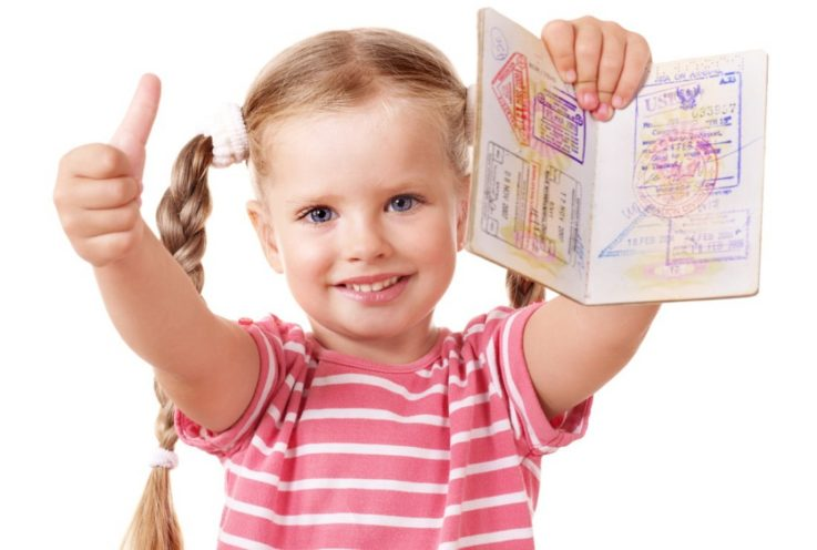 Отдельный загранпаспорт на ребенка