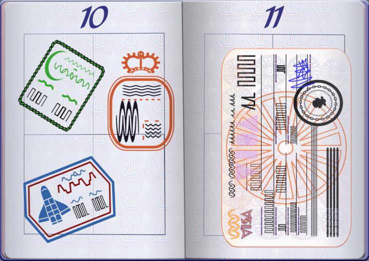 Виза для россиян и украинцев